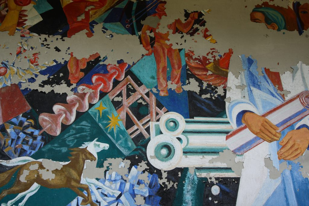 Mural in Palace of Culture, Pripyat