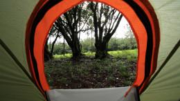 Camping in Perquin