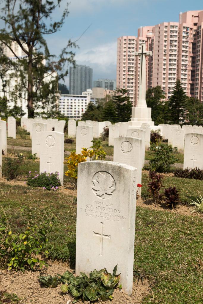 Sai Wan War Cemetery, Hong Kong