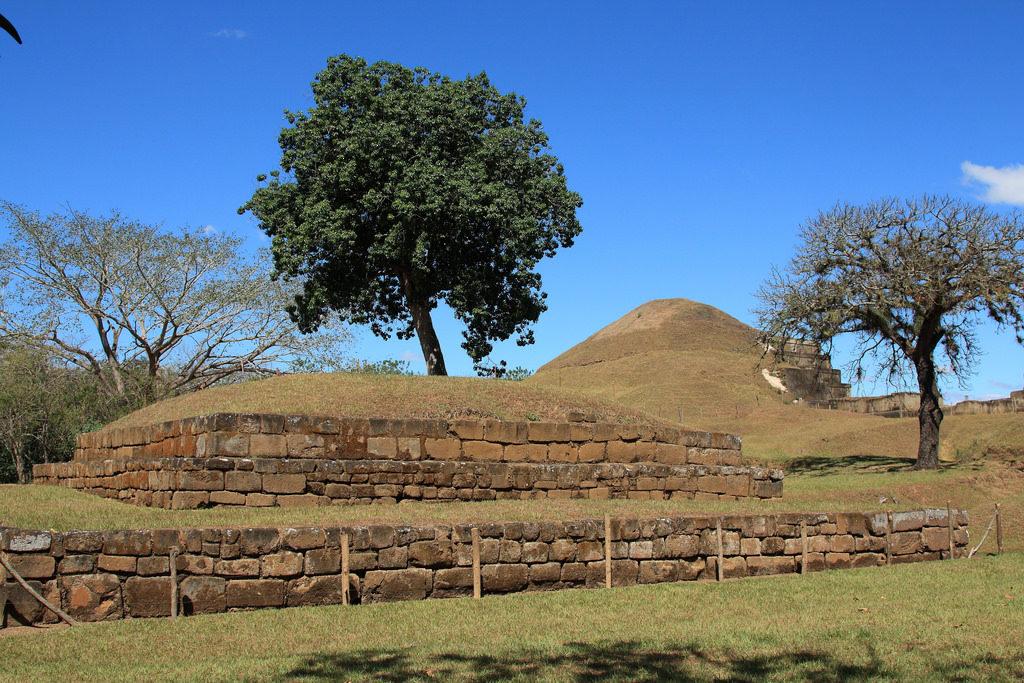 San Andres Mayan ruins