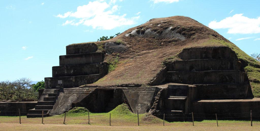 San Andres Mayan ruins in El Salvador
