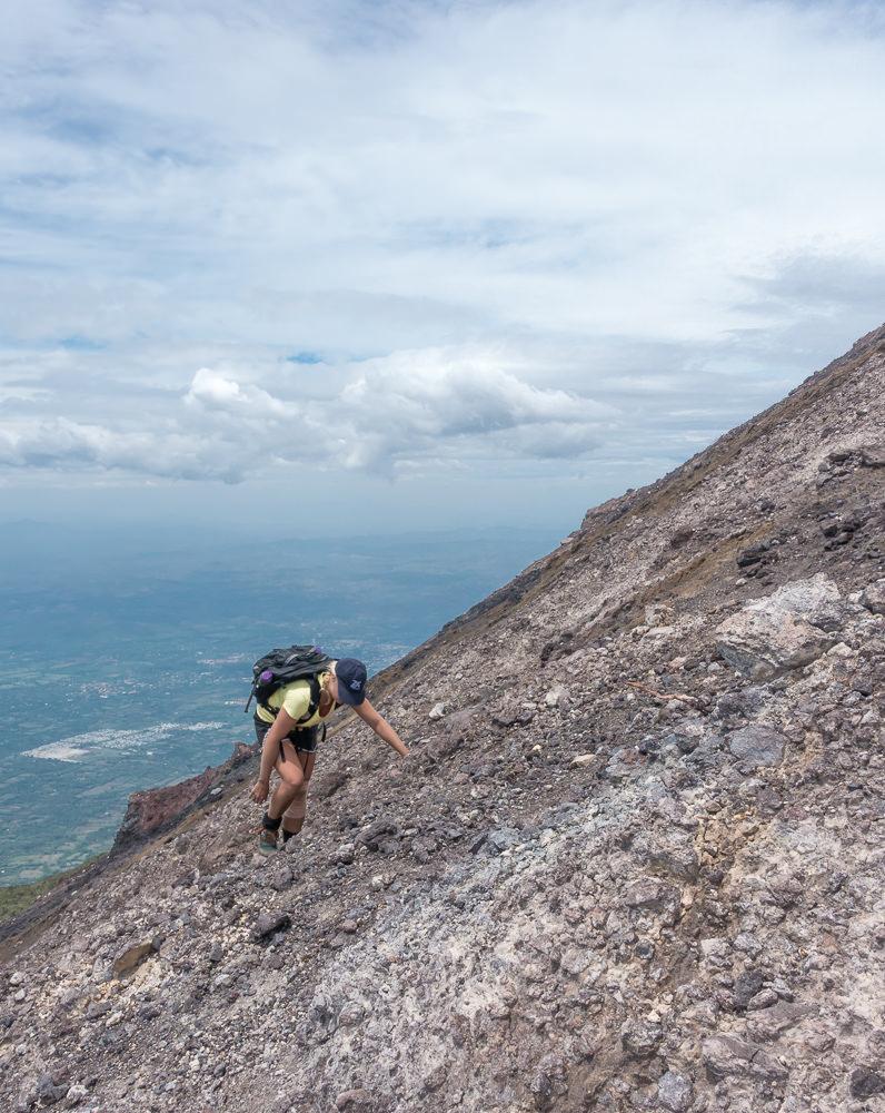 San Miguel scree slopes