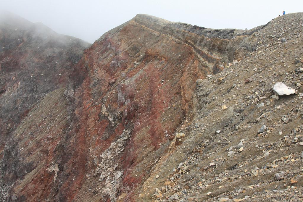 Santa Ana volcano summit