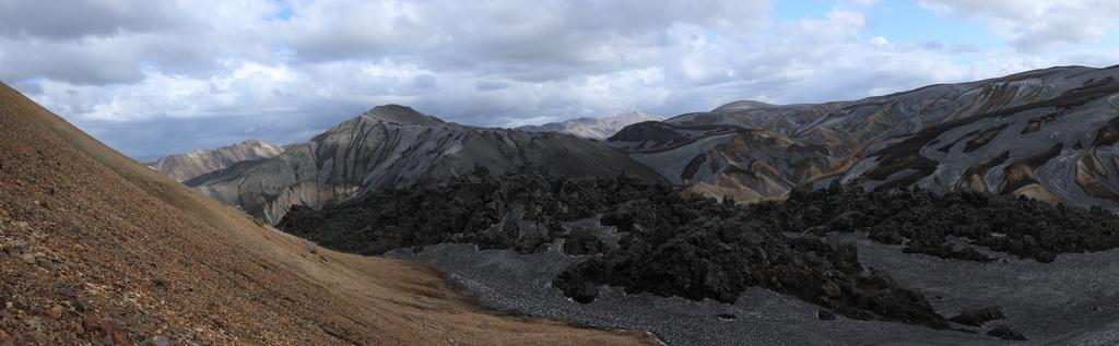 Brennisteinsalda volcanic landscape
